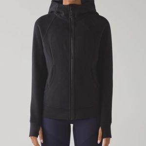 Lululemon scuba hoodie black size 6
